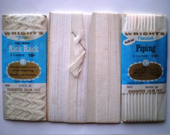 Vintage Piping - Rick Rack - Twill Tape