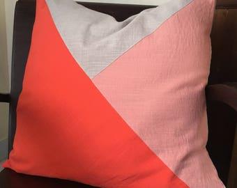Color Block Pillow - Hoi An Collection