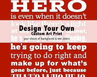 Custom Graphic Typography Quote Art Print . Bespoke Personalized Home Decor . House Rules Wall Poster Memory Sign Quote Saying Verse Message