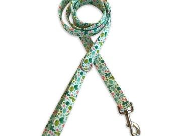 Cactus Dog Leash, Dog Leash, Dog Leash, 4 foot, 5 foot leash, 6 foot Leash