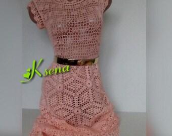 Crochet dress women Knitted dress Crochet maxi dress Hand knit dress women Crochet summer dress Crochet lace dress Hand knitted lace dress