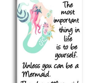Mermaid Magnet, Mermaid Fridge Magnet, Refrigerator Magnet, Kitchen Magnet - RM011