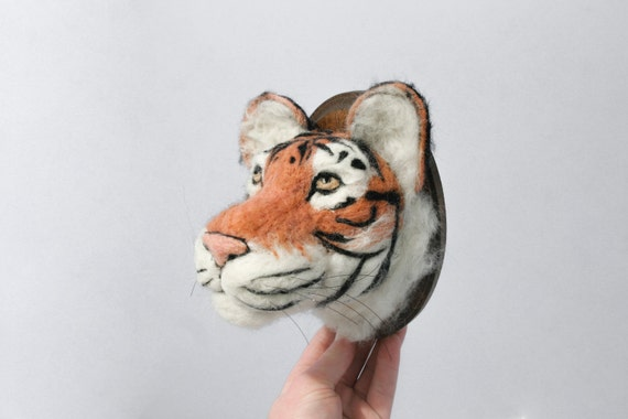 Faux Taxidermy Siberian Tiger (Panthera tigris altaica)