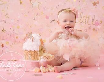 Pink Birthday Tutu Outfit   Pink Dress   Cake Smash Tutus