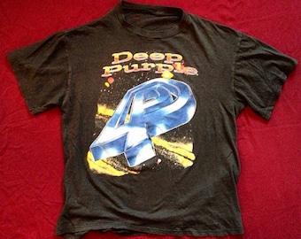 1988 Vintage Deep Purple Tour T- Shirt