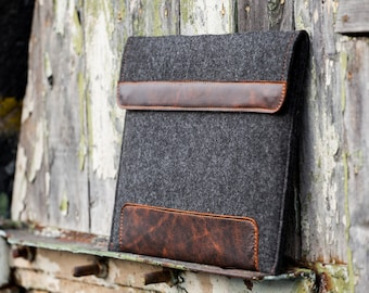 Dark Felt Dell Xps 13 sleeve. Leather Cover for Dell Xps 13 15 2 in 1. Dell xps 15 case. Dell xps sleeve. dell xps 15 case