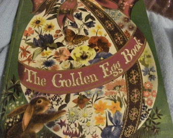 The golden egg book is a big golden book from 1947