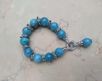 Hand-made gemstone bracelet (BR2)