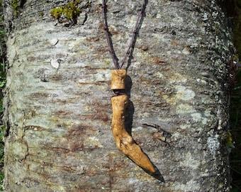 Driftwood Pendant Necklace, Wood Wand, Pagan Jewelry, Wiccan Jewelry, Sea Witch Jewelry,Witchcraft, Druid Jewelry, Magic Magick Wand