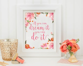 Inspirational Quote - Wall Art Print - Printable Art - Digital Art - Quote Printable - Quote Print - Typography Quote - Wall Art Quote