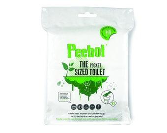 Peebol - The Pocket Sized Toilet