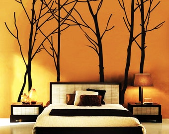 Tree Wall Decal Forest Vinyl Sticker Large Nursery Wall Decal 94''