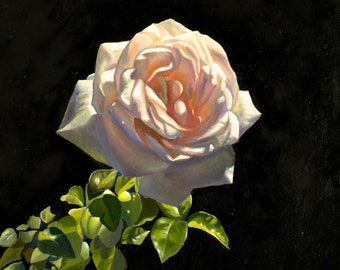 Rose Painting Reproduction