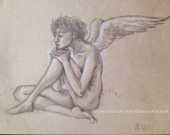 Angel by Renae Taylor (original drawing)