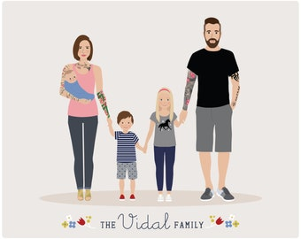 Additional Infant for Custom Family Portrait, baby portrait
