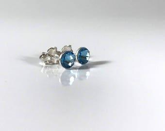 Chill Blue Sterling Silver Earrings