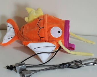 Rock Climbing Chalk Bag made from a child's plush toy