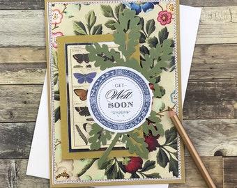 Botanical Get Well Soon Card