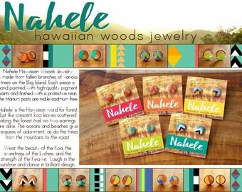 Nahele Hawaiian Woods Jewelry
