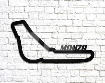 Monza Race Track Wall Art