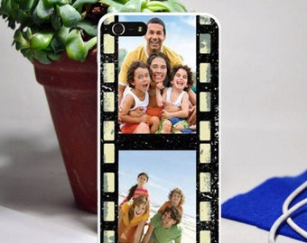 2 photo film strip phone case for iphone and samsung