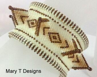 Bailey - A Beadwoven Bangle Bracelet...