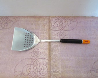 Vintage Top Drawer by Ekco Slotted Spatula Flipper