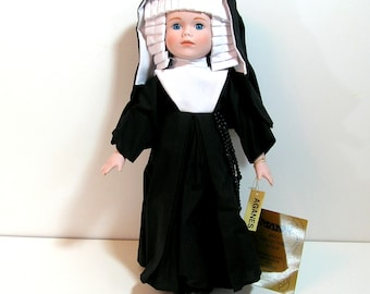 Vintage Nun Doll, A Connoisseur Collection Doll From Seymour Mann