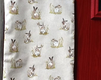 Versatile Hare ,Rabbit Lined Tote Bag