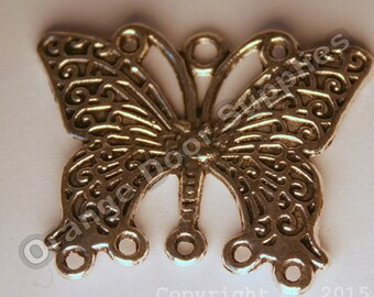 Large Butterfly Connector - 30x28mm - 2 Pcs