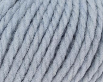 Rowan Big Wool 13.50 +1.50ea to Ship + Free Patterns Shown - 021 Ice Blue - Super Bulky 100% Merino Wool Yarn  MSRP 16.95
