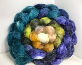 Spinning Fiber Merino SW/Bombyx/Mohair 70/15/15 - 5oz - Tree Ears 2