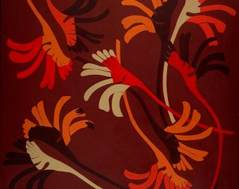 Kangaroo Paw Paper Print
