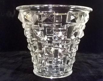 Orrefors Glass Vase 1930's Simon Gate Art Deco Vase