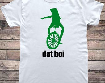 Here Comes Dat Boi Frog Meme T-Shirt