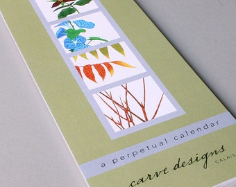 Perpetual Calendar: A nature inspired perpetual, birthday and gardening calendar