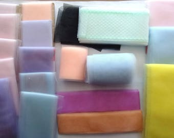 lot of different colors - different models - for decoration or creation TULLE