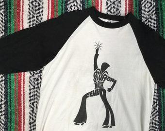 Saturday Night Fever Raglan T-Shirt
