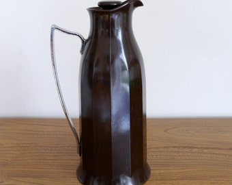 Art deco Thermos jug, Thermos flask, Thermos pitcher, Bakelite, 1930s