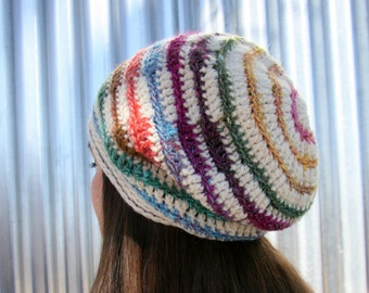 CROCHET PATTERN: Pisa, a Crochet Hat Pattern for Women and Men
