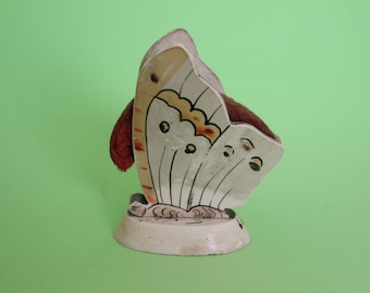 Hand Painted Celluloid Butterfly Pin Cushion