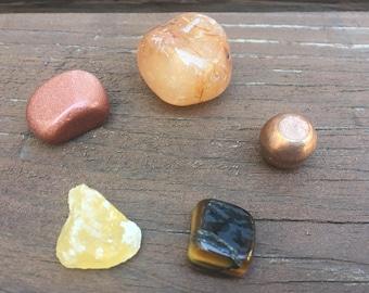 Sacral Chakra Stone Sets
