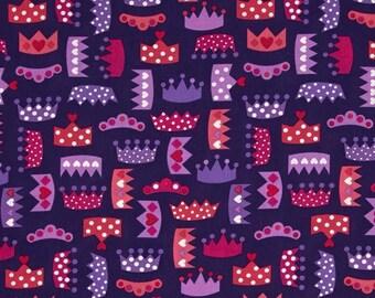 Patchwork fabric Crown Princess purple Kaufman