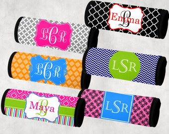 Monogram Luggage Wrap,  Luggage Wrap, Personalized luggage wrap, Bag tag
