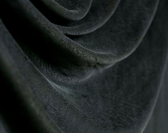 Vintage black silk w subtle black animal print pattern. Pure silk excellent drape and amazing feel and texture