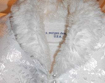 Bridal Cape Wedding Formal Evening Stole Princess Wrap Shawl