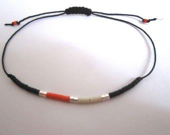 Bracelet in pearls myuki coulisaant
