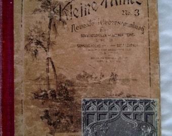 Antique German Hymnal Die Kleine Palme Free Shipping