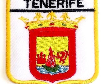 Tenerife Embroidered Patch