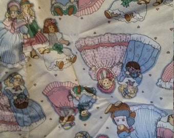 Antique Doll Fabric pop fabric, sold by 1/2 yard